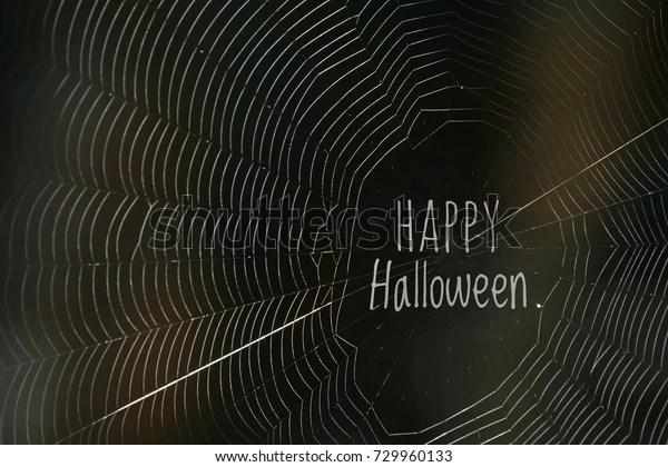happy halloween word middle