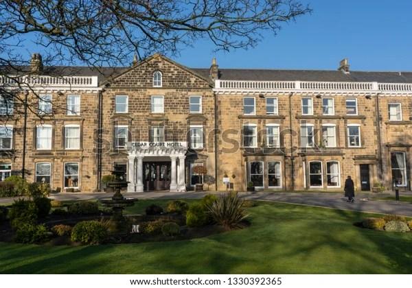 Harrogatenorth Yorkshireunited Kingdom2272019sunlit Cedar
