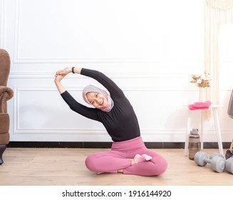 Learn about the benefits, forms. Hijab Yoga Images Stock Photos Vectors Shutterstock