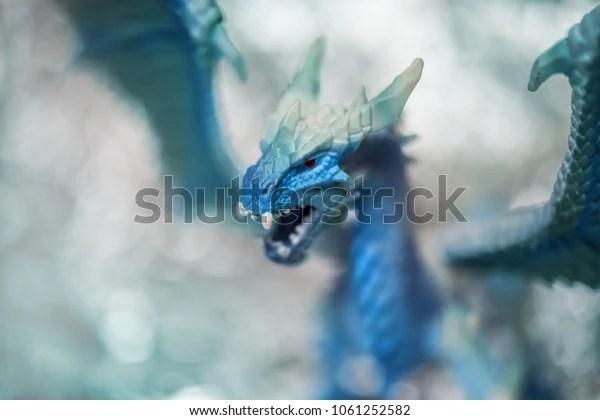 ice blue dragon toy