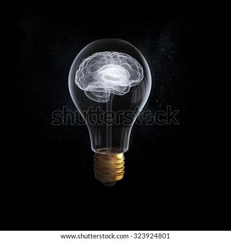 idea concept brain inside