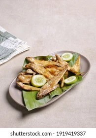 Ikan Asin Goreng : goreng, Stock, Images, Shutterstock