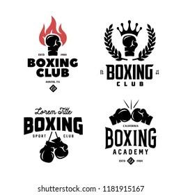 Boxing Logo Vectors Free Download