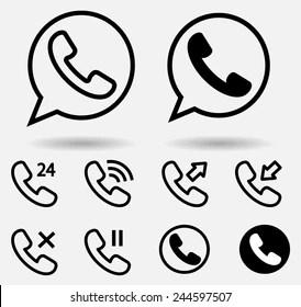 Telephone Logo Vectors Free Download