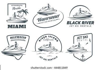 Jet Ski Logo Vector (.EPS) Free Download