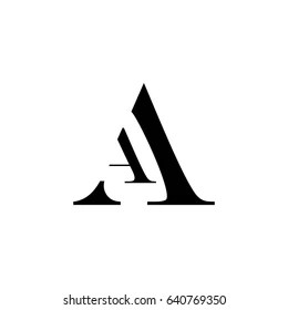 Aa Logo Vectors Free Download