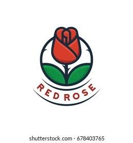 Rose Logo Vectors Free Download
