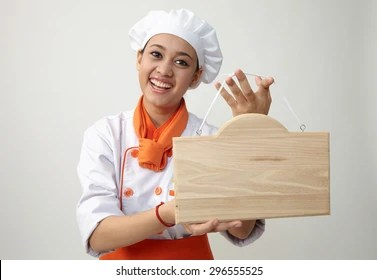 lady chef images stock