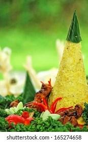 Nasi Tumpeng Vector : tumpeng, vector, Tumpeng, Images,, Stock, Photos, Vectors, Shutterstock