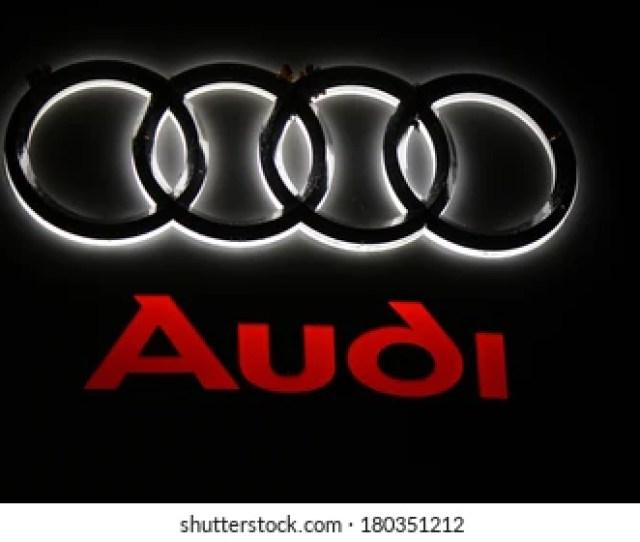January   Berlin The Logo Of The Brand Audi