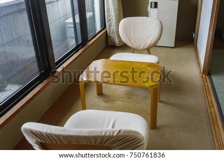 japanese table and chairs bedroom chair gumtree scotland stock photo edit now 750761836 shutterstock