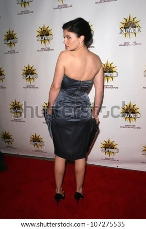 Jodi Lyn Okeefe At The Hot In Hollywood Charity Event To Benefit The Aids