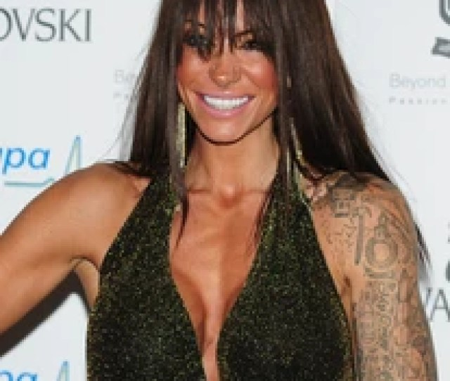 Jodie Marsh Arriving For The Global Angels Awards At The Park Plaza Hotel In Westminster London