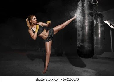 Beautiful Girl Hand Wallpaper Kickboxing Images Stock Photos Amp Vectors Shutterstock