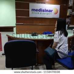 Office Chair Kota Kinabalu Family Design House Stockholm Sabah Malaysia Aug 17 Stock Photo Edit Now 2018 Unidentified Woman Waiting For Turn To