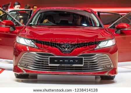all new camry 2018 malaysia harga grand avanza kuala lumpur 23 november stock photo edit now toyota at motorshow