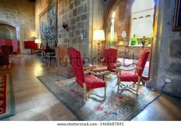 Leon Spain10152016 Living Room Medieval Castle Stock Photo Edit Now 1468687841