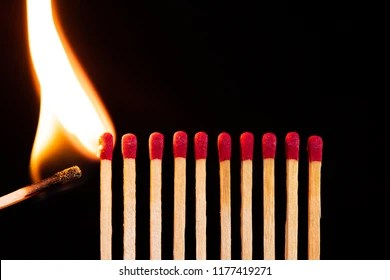 matches fire images stock
