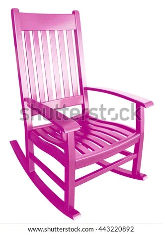 little girl rocking chair tranquil ease lift model 7051 3 pink facing stock photo edit now right on a porch isolated painted wood relaxing beach furniture