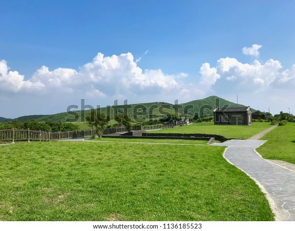 Little House On Yang Ming Shan Stock Photo Edit Now 1136185523