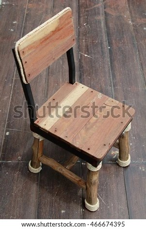 handmade wooden chairs holiday chair covers cheap little wood classic restaurant stock photo edit now in the