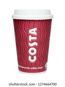 costa coffee images stock