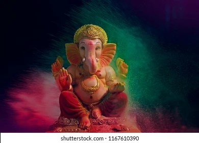 lord ganesha images stock