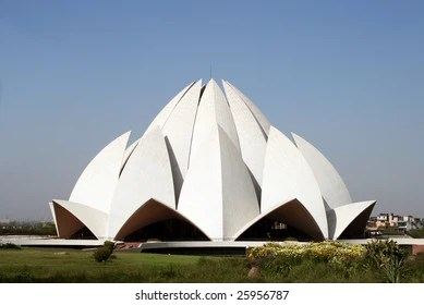 lotus temple images stock