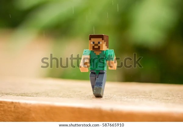 minecraft stock photo edit