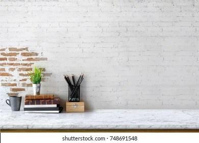 minimalist office images stock