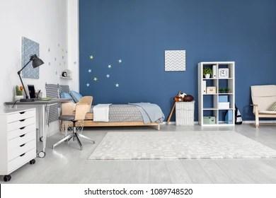 modern children room stock