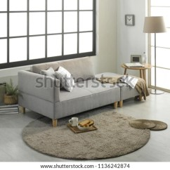 Modern Living Room Couches Zen Sofa Furniture Japanese Stock Photo Edit Now With And Style One Interior Practical