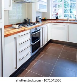 modular kitchen images stock