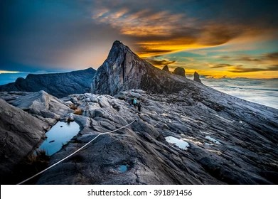 The return trek takes 2 days from park headquarters. Mount Kinabalu Images Stock Photos Vectors Shutterstock