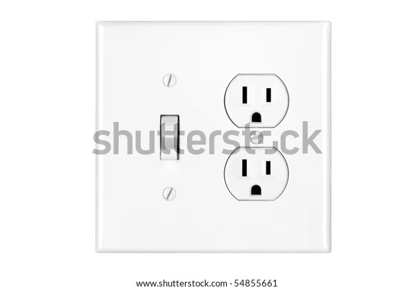 Combination Light Switch And Outlet