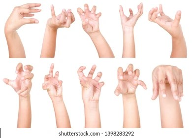 hand gesture images stock