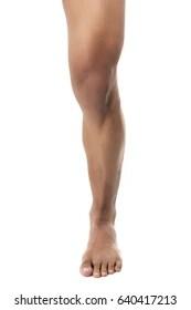 male leg stock photos