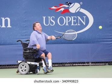 wheelchair quad chair stand norms 500 tennis pictures royalty free images stock photos new york september 12 2015 player nicholas taylor of united states in