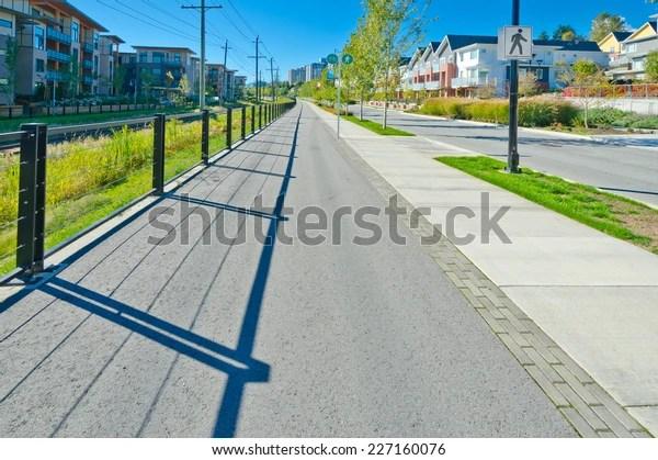 nice clean long pedestrian