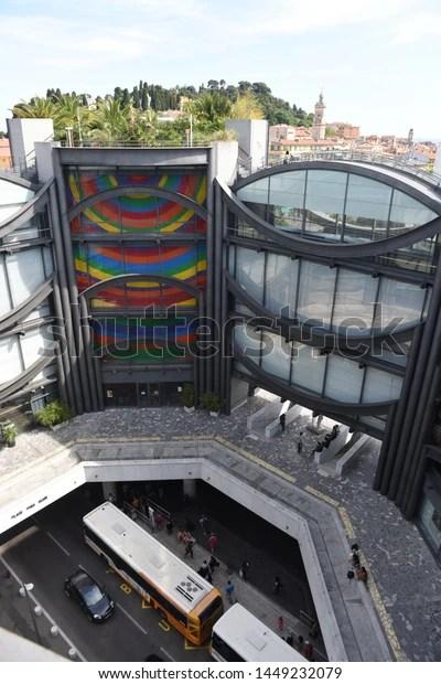 Musée D'art Moderne Et D'art Contemporain De Nice : musée, d'art, moderne, contemporain, France, Modern, Stock, Photo, (Edit, 1449232079