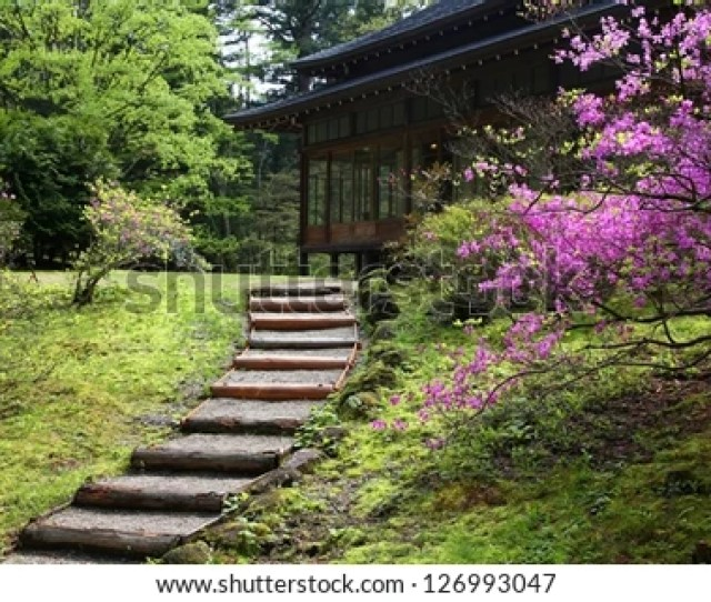 Nikko Japan Japanese Gardens In Spring Time Tamozawa Villa
