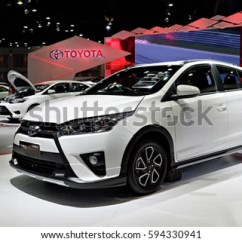 Toyota Yaris Trd Sportivo All New Vellfire Interior Nonthaburi Thailand March 28 Stock Photo Edit Now The Is On Display 37th Bangkok International Motor Show 2016 In