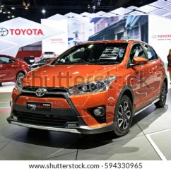 Toyota Yaris Trd Spesifikasi Grand New Veloz 1.5 Nonthaburi Thailand March 28 Stock Photo Edit Now The Sportivo Is On Display
