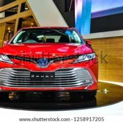 All New Camry 2018 Thailand Kelemahan Yaris Trd Sportivo Nonthaburi November 282018 Toyota Stock Photo 28 2019 On