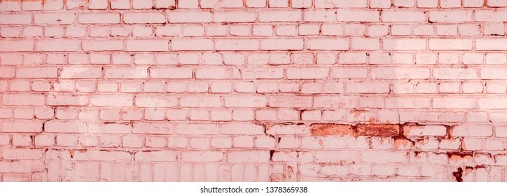 pink brickwall images stock