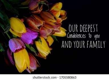 Deepest Sympathy Images Stock Photos Vectors Shutterstock