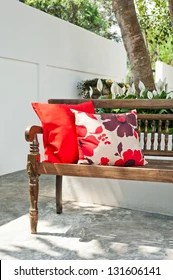 https www shutterstock com image photo outdoor patio seating area nice bench 131606141