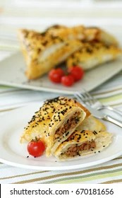 Kiymali Borek : kiymali, borek, Kiymali, Borek, Stock, Images, Shutterstock