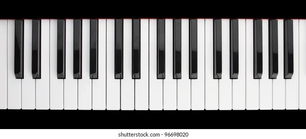 piano key images stock