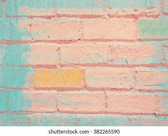 pink brick wall images